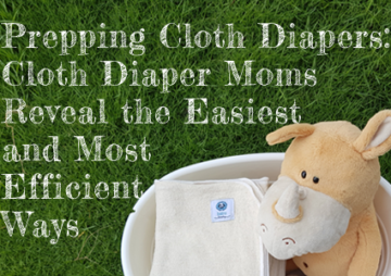 Prepping Cloth Diapers