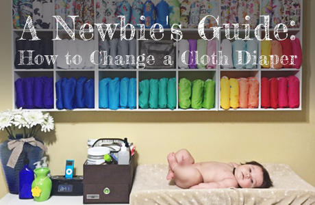 how to change a cloth diaper
